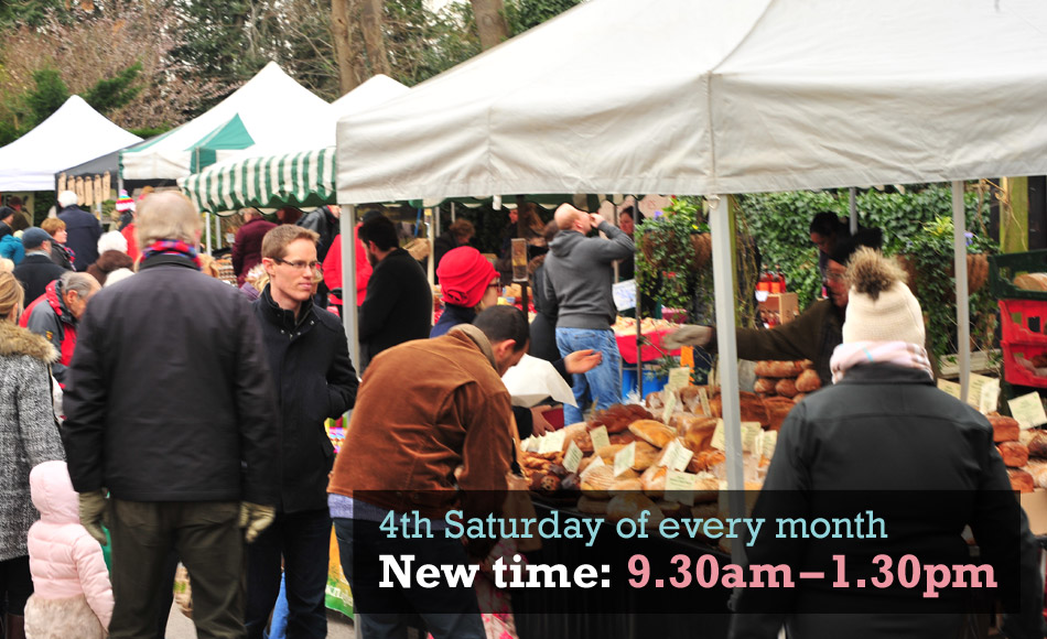 Thames Ditton Farmers' Market new time